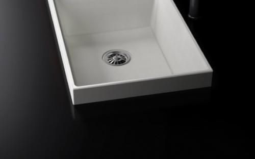 Мойка кухонная гранитная Marmorin OLWIN 1 - 2 чаши 870х450х193 мм