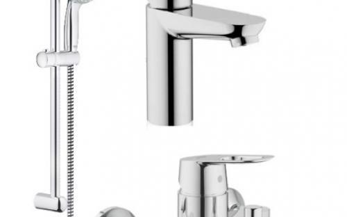Набор смесителей для ванны Grohe BAU LOOP 118105