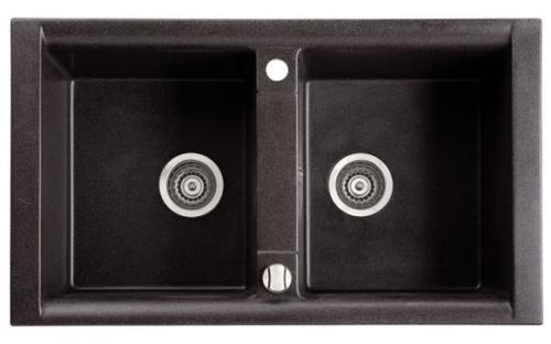 Мойка кухонная из гранита Marmorin Profir - 2 чаши 860х500х230 мм
