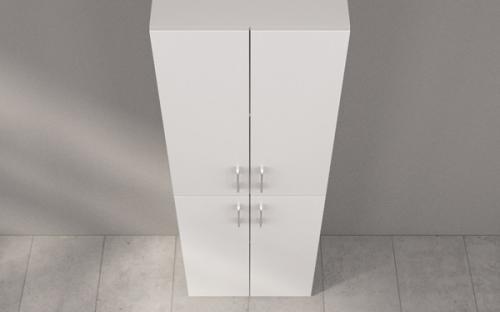 Пенал для ванной Fancy Marble П-2676