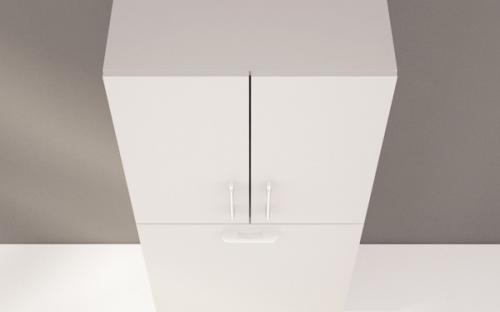 Шкаф навесной для ванной Fancy Marble П-2755