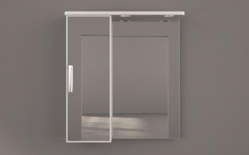 Шкафчик зеркальный Fancy Marble ШЗ-4338