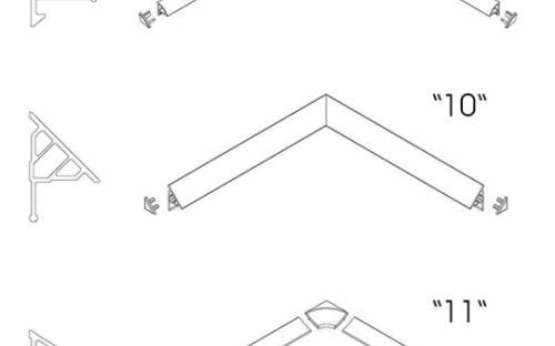 Декоративная планка RAVAK 11/1100