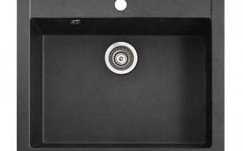 Гранитная мойка для кухни Marmorin Bario - 1 чаша 590х500х215 мм