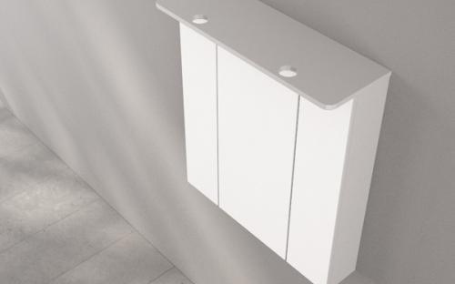 Шкафчик зеркальный Fancy Marble ШЗ-4159