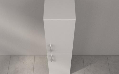 Пенал для ванной Fancy Marble П-4269