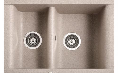 Гранитная кухонная мойка Мойка Marmorin Voga - 1,5 чаши 635х540х205 мм