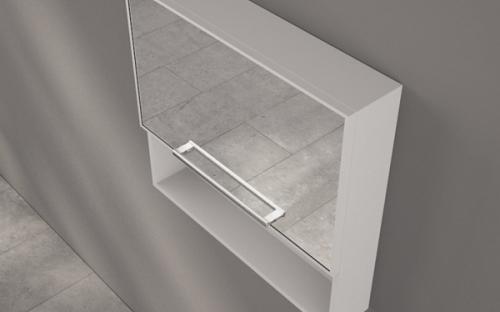 Шкафчик зеркальный Fancy Marble ШЗ-5341