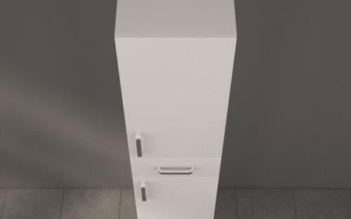 Пенал для ванной Fancy Marble П-5393