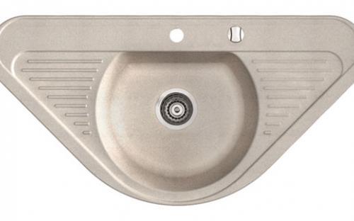 Кухонная гранитная мойка Marmorin Duro - 1 чаша со двойной полкой 940х470х193 мм