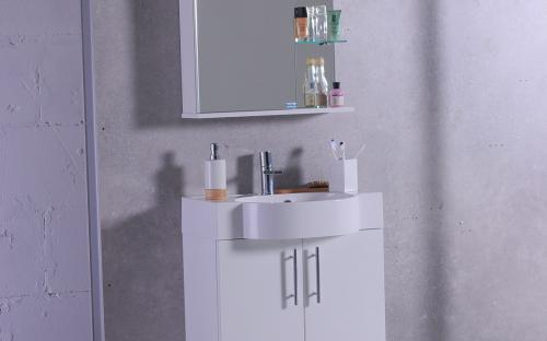 "Шкафчик навесной Ibiza 60 с раковиной Fancy Marble ""Comfort"" 612"