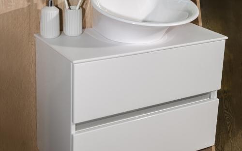 Шкафчик навесной Rodos с раковиной Fancy Marble Nila
