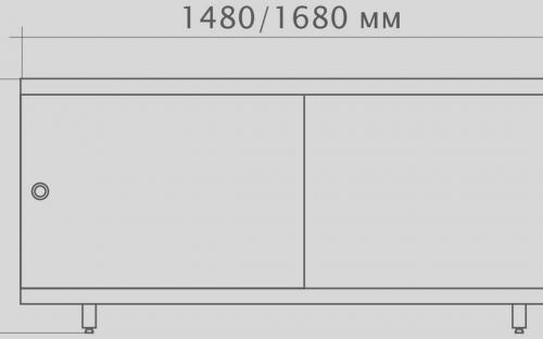 Экран под ванну МетаКам 1680