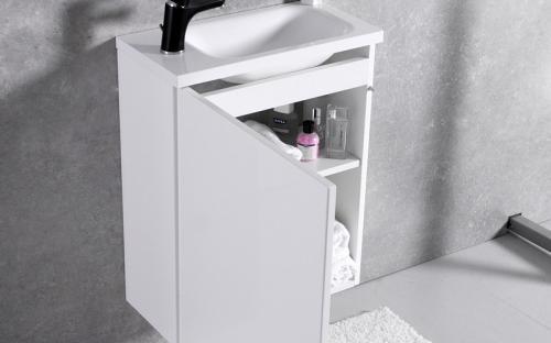 Шкафчик навесной Java 50 с раковиной Fancy Marble Linnea 500