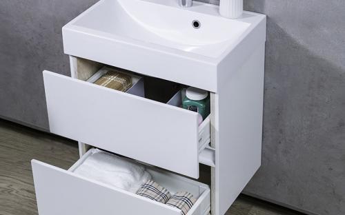 Шкафчик навесной Man 550 с раковиной UM-550