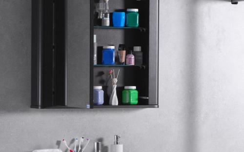 Шкафчик для ванной комнаты зеркальный MC Carla 800 (ШЗ-Carla 800)