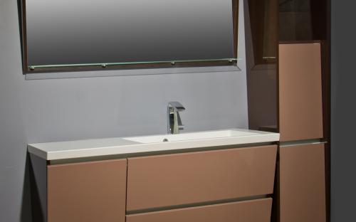 Шкафчик навесной Cyprus 1250 с раковиной Fancy Marble Peggy 1250