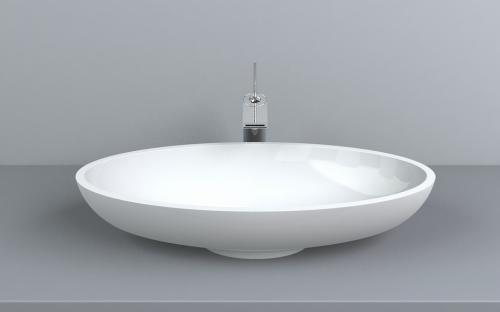 Раковина Fancy Marble Nice 600x300