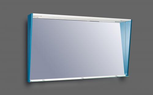 Шкафчик для ванной комнаты зеркальный Fancy Marble ШЗ - Cyprus 1250