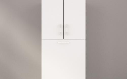 Шкаф (пенал) навесной для ванной Буль-Буль П-2755