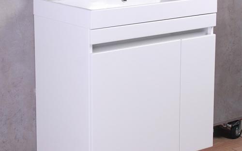 Шкафчик навесной Fancy Marble Sheldon 700 с раковиной Fancy Marble Signe 700