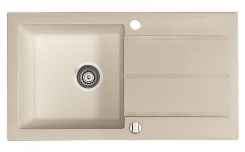 Гранитная мойка для кухни Fancy Marble Tennessee 780x435x170 (Песочный)
