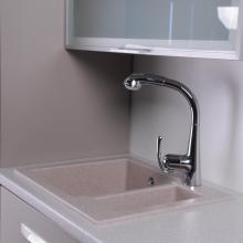 Гранитная мойка для кухни Fancy Marble Arizona 600x500x215 (Песочный)