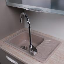 Гранитная мойка для кухни Fancy Marble Filadelfia 650x440x195 (Песочный)