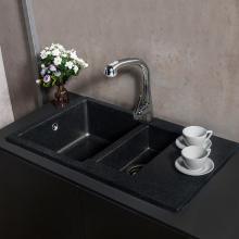 Гранитная мойка для кухни Fancy Marble La Pas (Черный)