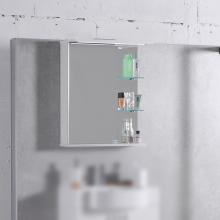 Шкафчик для ванной комнаты зеркальный МС-8 (ШЗ-8)